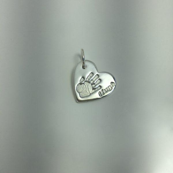 Handprint Necklace Edinburgh