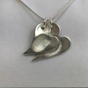 Fingerprint Double Charm Necklace