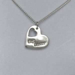 Big Sister Fine Silver Personalised Charm