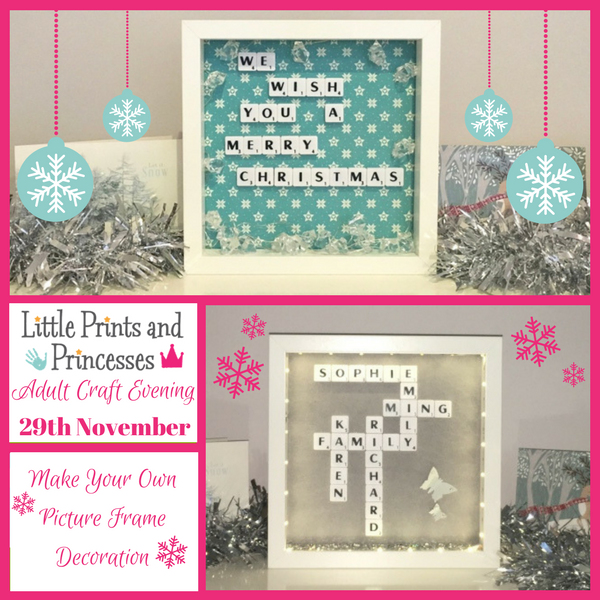 Adult craft evening little prints and princesses for Crafts classes for adults